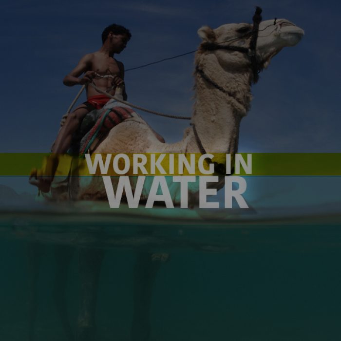 WORKING IN WATER